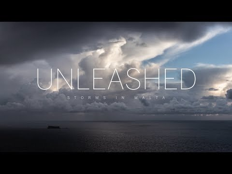 UNLEASHED - Storms in Malta 2K Timelapse