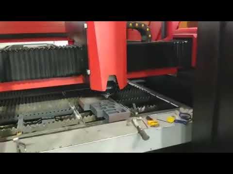 "Laser Potência 12kw - Baisheng Laser - Máquina Laser Fibra cortando 50mm em Aço! 2"" de espessura!"