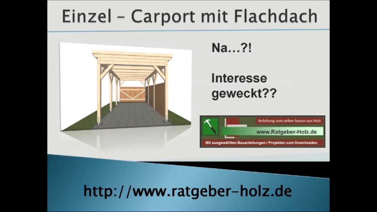 carport selber bauen bauanleitung intro youtube. Black Bedroom Furniture Sets. Home Design Ideas