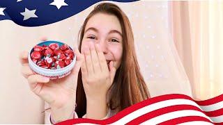 Опитвам американски сладки и снакове/Ерика Думбова/Erika Doumbova