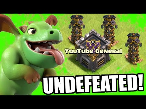 Clash Of Clans | UNDEFEATED BABY DRAGONS ON DEFENSE!! | FRIENDLY CHALLENGE ATTACKS NEW TROOPS 2016!