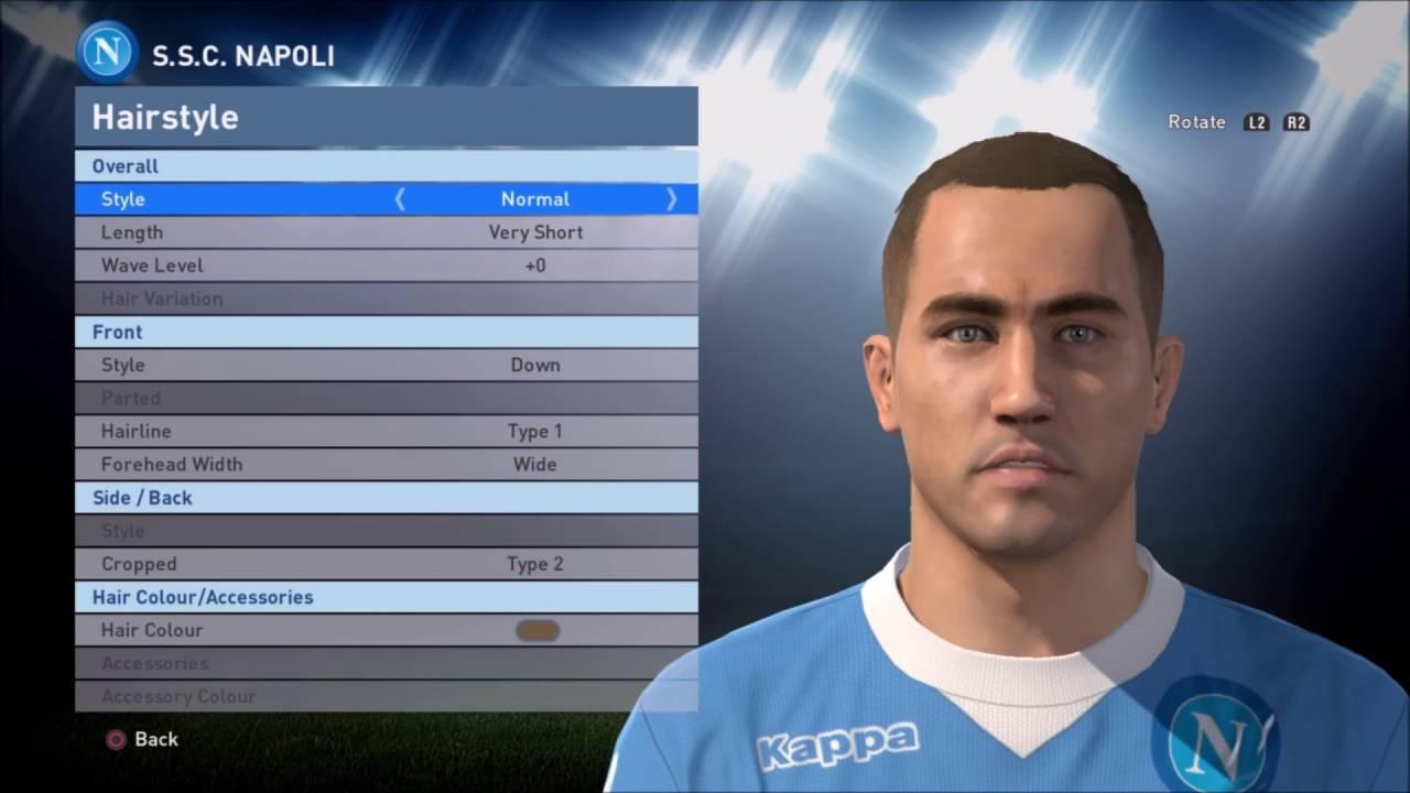 Fabio Cannavaro PES 2016 Face Build