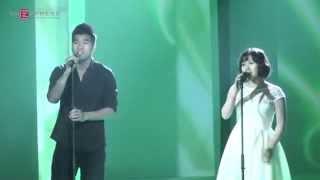 Trường Sơn Đông, Trường Sơn Tây - Tạ Quang Thắng & Thùy Chi (Fancam - Cống Hiến 4/2015)