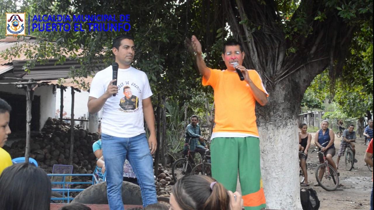 Download Show de cocolito en la Isla El Espíritu Santo, Puerto El Triunfo.