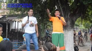Show de cocolito en la Isla El Espíritu Santo, Puerto El Triunfo.