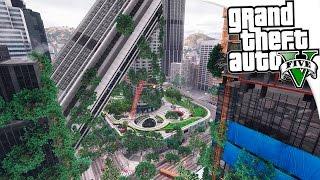 GTA 5 Моды: После ядерной войны - Разрушенный Лос-Сантос после Ядерной Войны! ✅
