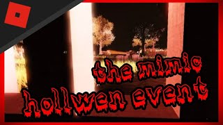 roblox the mimic holloween event