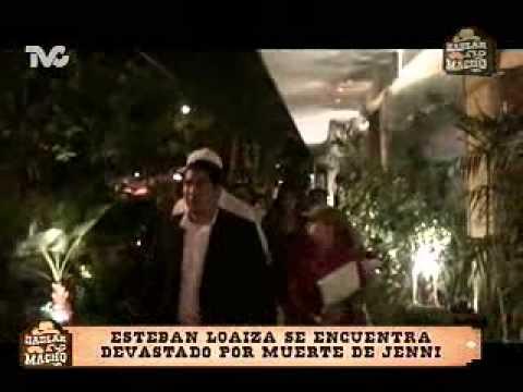 Esteban Loaiza Devastado por la Muerte de Jenni Rivera (HM)