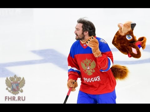 Ovechkin, Malkin & Kuznetsov Prank. Mascots Made in Russia