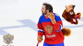 Download Ovechkin, Malkin & Kuznetsov Prank. Mascots Made in Russia Mp3 and Videos