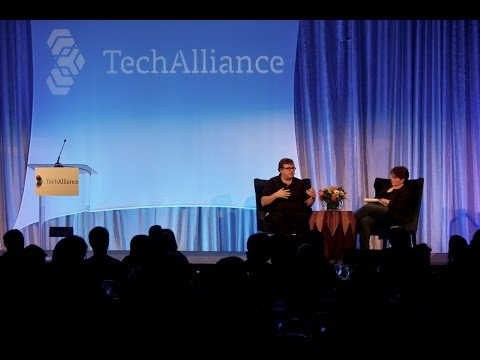 LinkedIn founder Reid Hoffman in Seattle