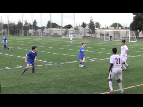 Cupertino Boys Varsity Soccer vs Woodside Priory Part 1