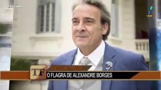 TV Fama - Vídeo íntimo vazado de Alexandre Borges não pega bem em emissora   19/09/2016