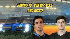 RIZZO AND I 2V3 WHILE SIZZ IS INJURED IN RANKED