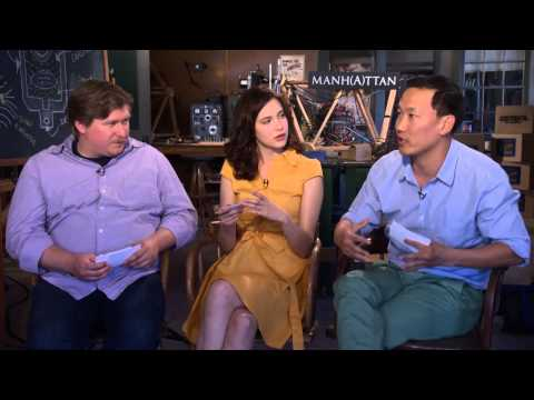 BEHIND THE FENCE: Michael Chernus, Eddie Shin, and Alexia Fast