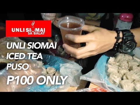 Cheap food in Cebu City! (Unli Siomai sa Tisa!)