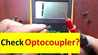What is Optocoupler and How to Check it Easily With Multimeter