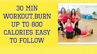 30 minute Cardio Workout- Fun and Easy to Follow - By Danielle