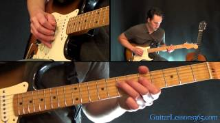 How to play Paranoid Guitar Solo - Black Sabbath