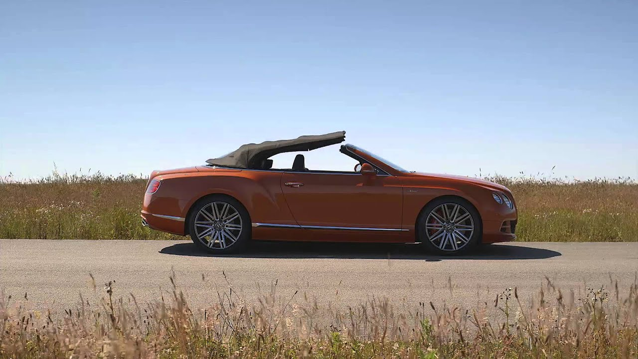 Bentley Continental GT Speed Convertible Burnt Orange