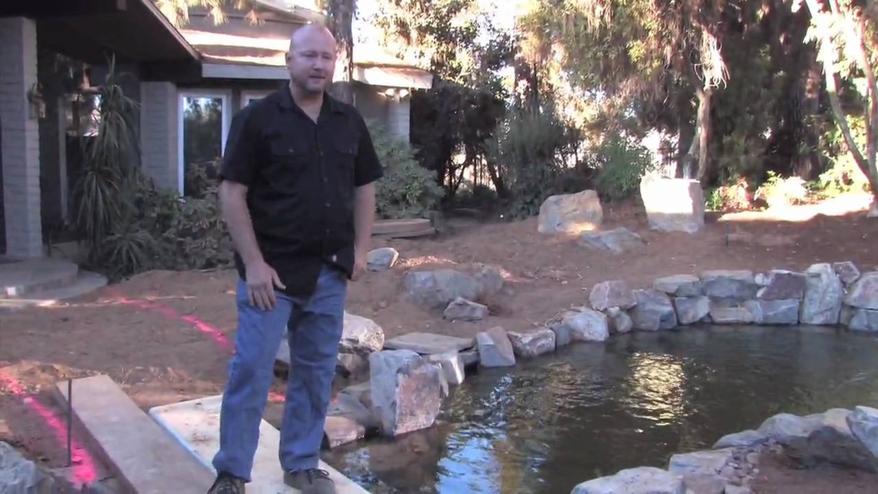 Koi pond design fundamentals youtube for Koi pond removal