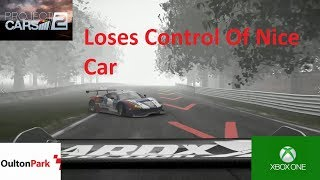 Project Cars 2-Wet Conditions Catches Racer Out