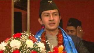Speech of Nigam Humagain