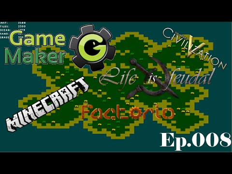 Let's Make a Game: Ep. #8 – GUI (PART II) -= Game Maker Tutorials =-