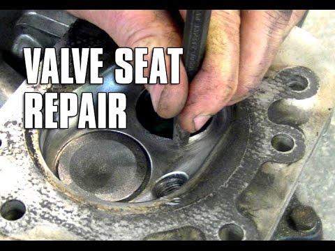 small engine valve seat repair youtube