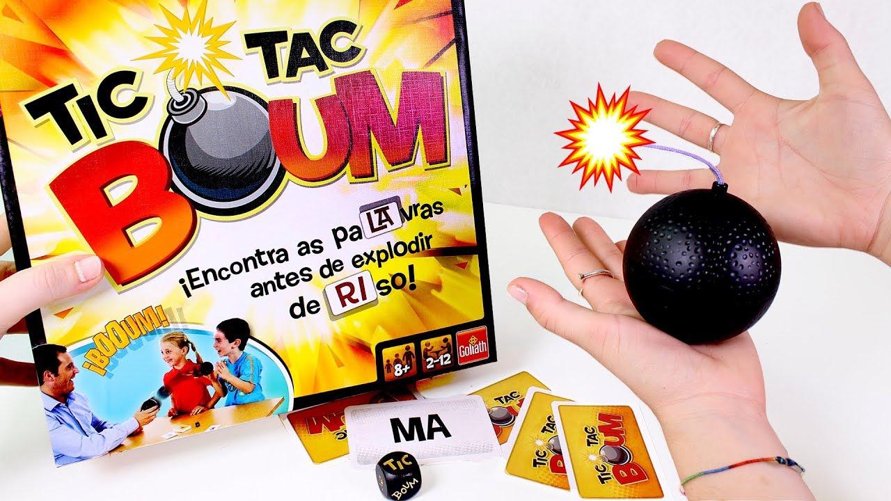 Juegos De Mesa Jugamos Al Juego De Mesa Tic Tac Boum De