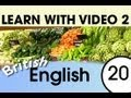Learn British English with Video - Don't Shop in England Without These Words