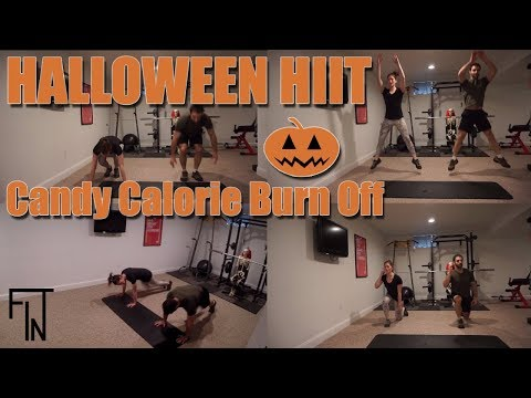 Halloween HIIT Candy Calorie Burn Off
