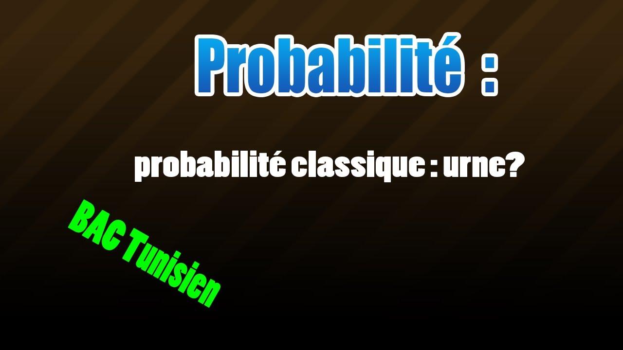 Download 01 probabilité classique
