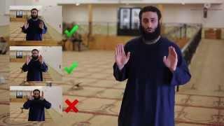 How To Pray - (Description of Prayer) - Shaikh Jibrail Muhsin