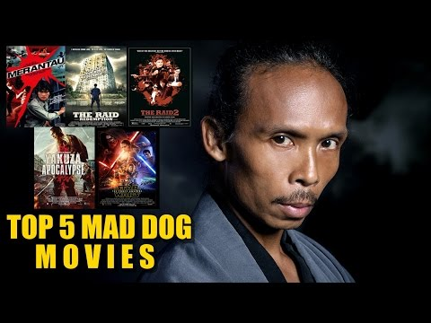 Top 5 MAD DOG Yayan Ruhian Movies  Red  Watch Out! You Must See It