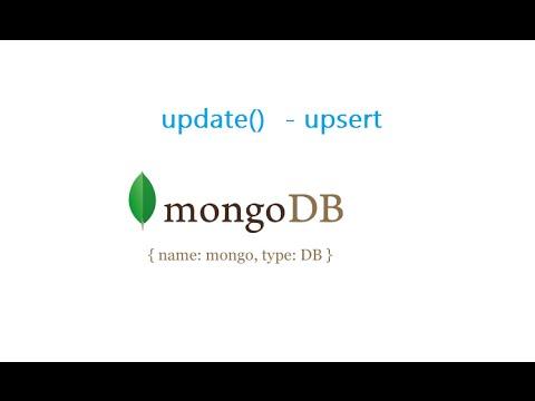 Update with upsert: MongoDB