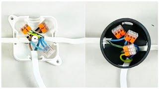 Video Jak łączyć przewody w puszkach elektrycznych instalacyjnych ? złączki instalacyjne WAGO download MP3, 3GP, MP4, WEBM, AVI, FLV November 2018