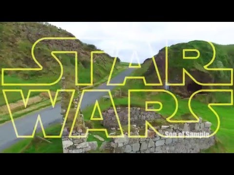 Star Wars Malin Head Trailer - Donegal Ireland - Son of Sample