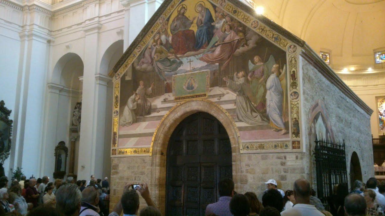 Apertura Della Porziuncola  Assisi - 1 U00b0 Agosto 2013