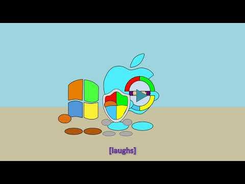 Mike Wazowski Gets Bitten But Windows XP