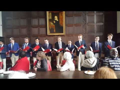 2016 06 04 The Gentlemen of St John's College Cambridge
