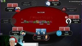 Let's Play Christmas Calendar Poker #2 - Freeroll Frenzy!