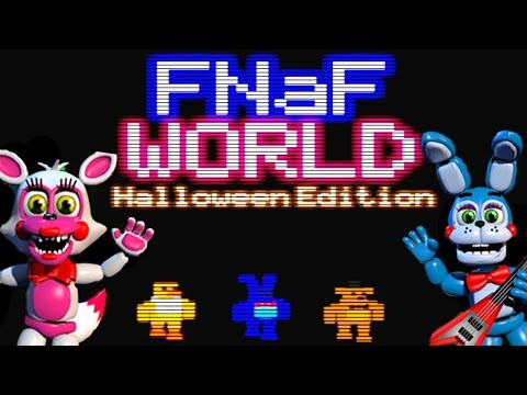 FNAF WORLD Halloween Edition Gameplay | BEST TROLL GAME EVER ...