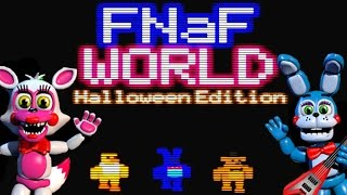 FNAF WORLD Halloween Edition Gameplay | BEST TROLL GAME EVER! | Part 1