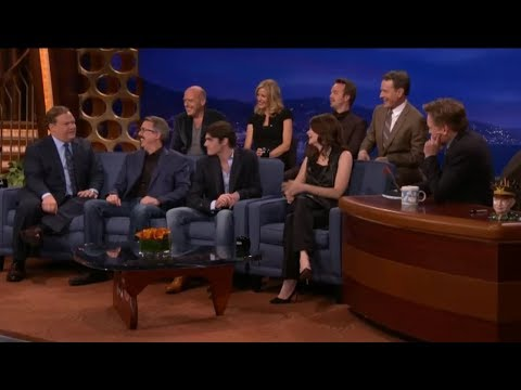 Conan O'Brien interviews the cast of Breaking Bad