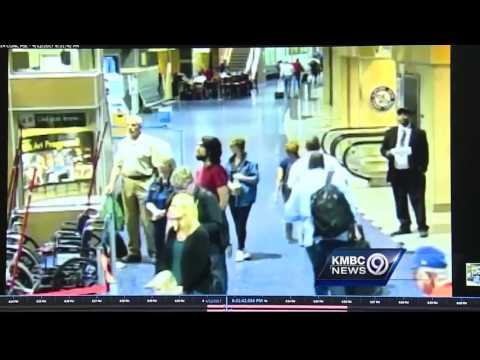 Watch: Passenger shoves pilot at Kansas City International Airport
