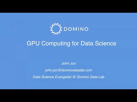 GPU Computing for Data Science