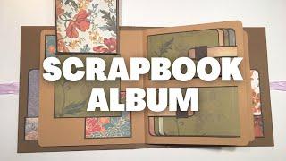 SCRAPBOOK ALBUM FOR BOYFRIEND   MINI ALBUM   PHOTO ALBUM   SCRAPBOOK IDEAS