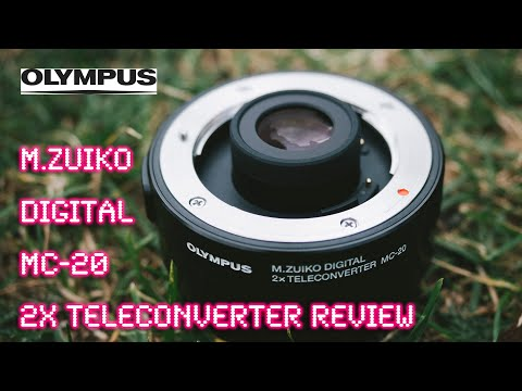 Olympus M.Zuiko MC-20 2x Teleconverter (1.5 inch enhancement) - RED35 Review