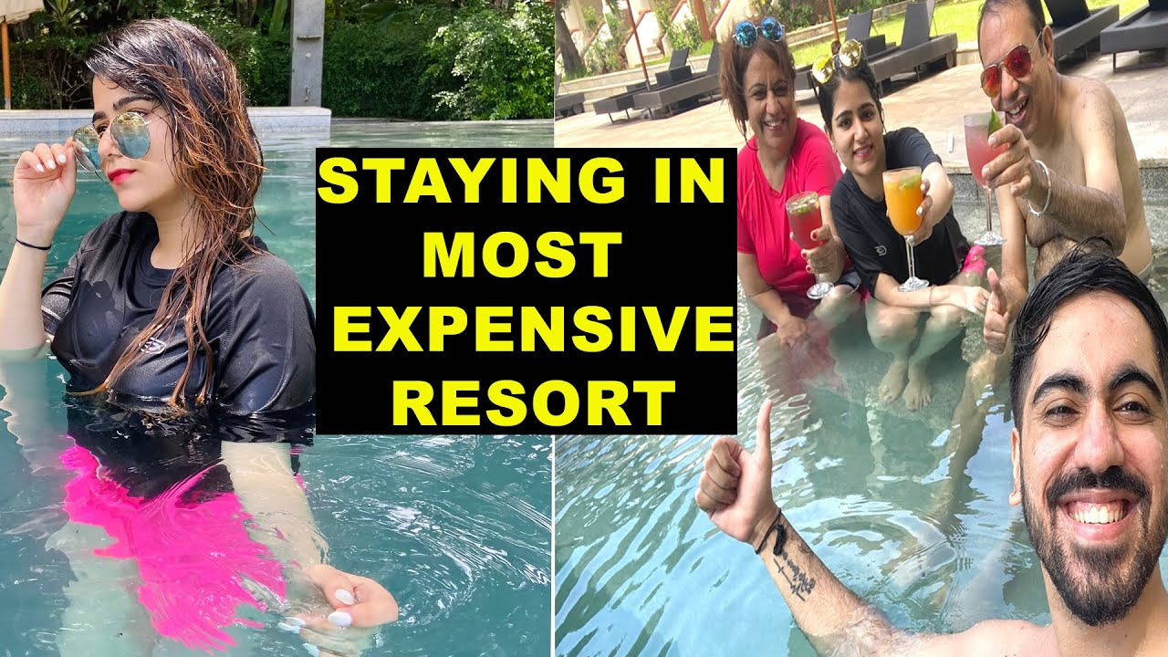 STAY IN MOST EXPENSIVE RESORT IN GOA| NISHI ATHWANI